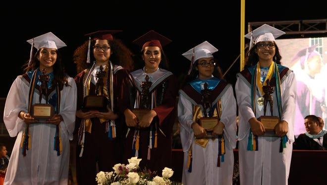 Ysleta High School class of 2017 held its graduation at the Hutchins Stadium