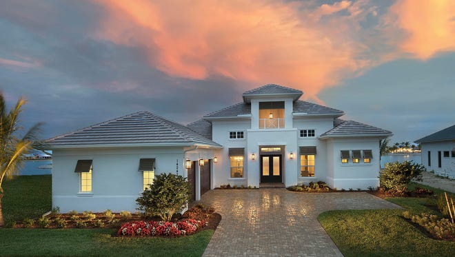 The Muirfield III is a four-bedroom, plus study, 3.5-bath home with 3,255 square feet under air and 4,823 total square feet.