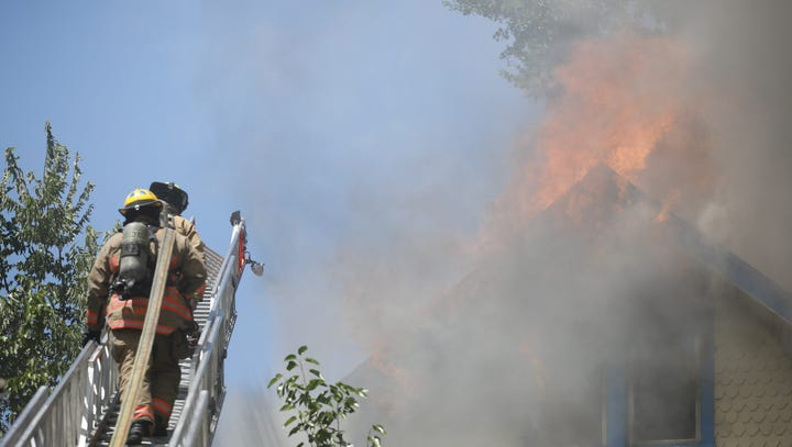 Fire causes heavy damage to Evanston home