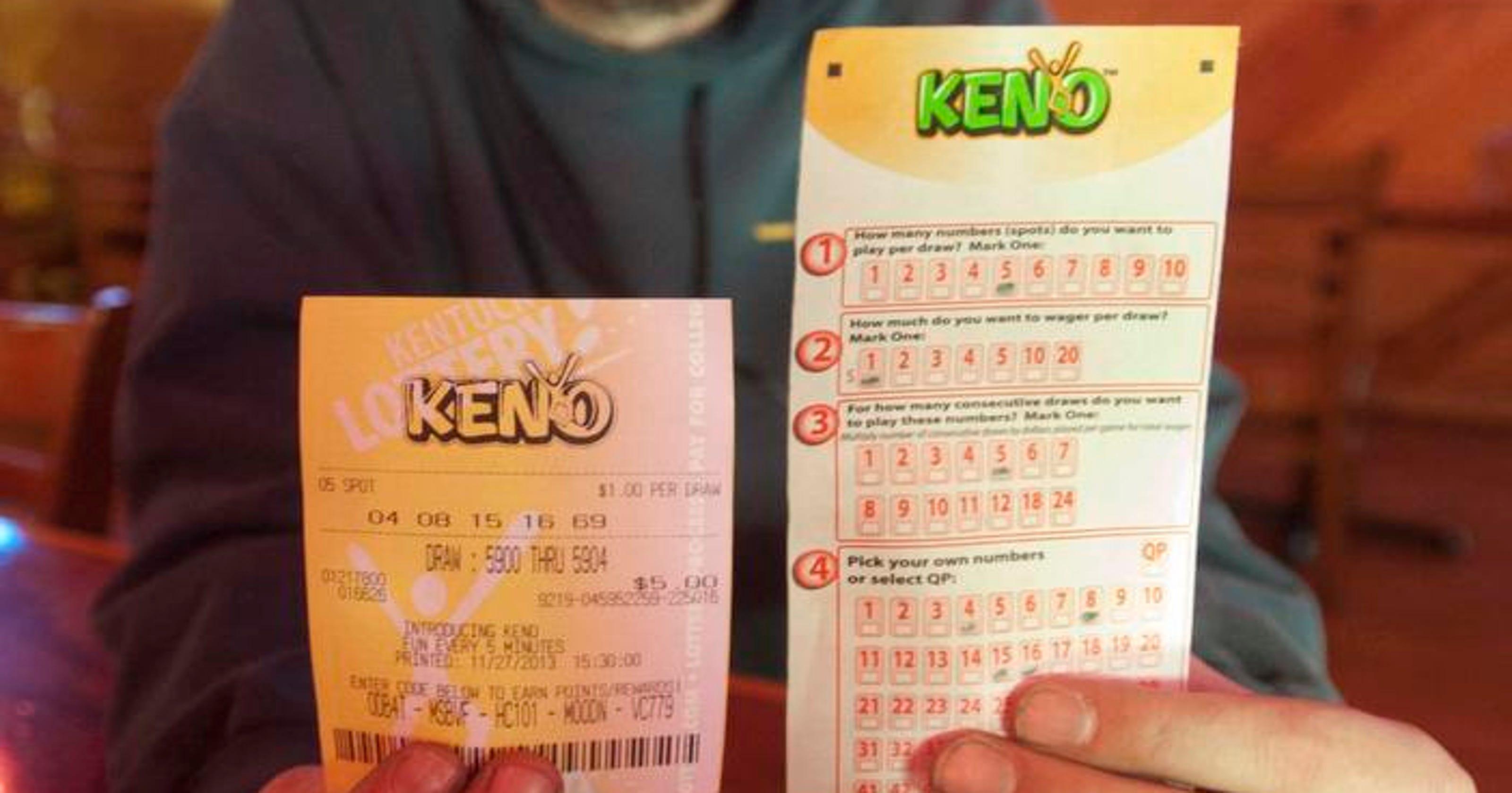 Ky lottery keno