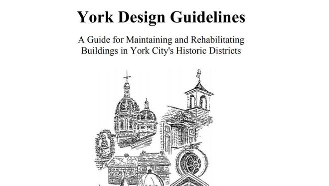 York's Historic Architecture Review Board had guidelines for renovations of homes in the city's historic district.