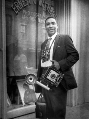Photographer Ernest Withers in the 1970s. Withers documented the Civil Rights struggle for African Americans during the 1960s. In 2013, information was released noting him as an FBI informant.