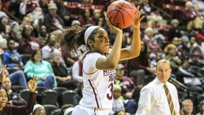 Mississippi State sophomore Victoria Vivians was named to the Wooden Award watchlist on Tuesday.