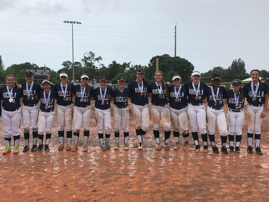 Aucilla Christian's softball team finished as Class