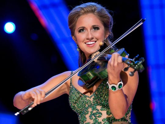 Miss Kentucky 2014 Ramsey Carpenter was a preliminary talent winner at the 2015 Miss America Competition.