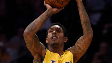Los Angeles Lakers guard Lou Williams (23) has been traded to the Houston Rockets.