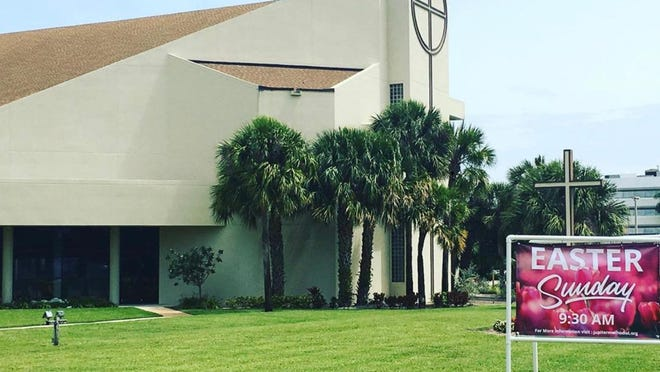 First United Methodist Church Jupiter-Tequesta will hold a drive-in service on Sunday in response to concerns regarding crowds amid the coronavirus pandemic.