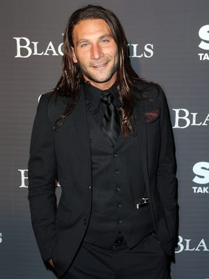 Actor Zach McGowan appears on the Starz series 'Black Sails.'