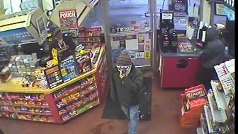 Oshkosh police are looking for a man they say robbed Family Video, 350 Ohio St., during the early morning hours of Tuesday, Jan. 26, 2016.