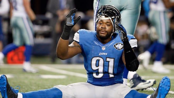 Detroit Lions defensive end Jason Jones.