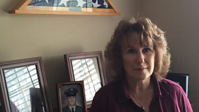 Marcy Ellis of Keizer, Ore.,  sister of Army Pfc. Melvin Chloupek, has kept his memory alive since he was killed during the Vietnam War.
