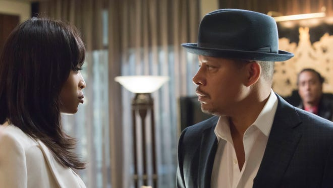 Camilla Marks (Naomi Campbell) and Lucious Lyon (Terrence Howard) are bitter enemies on Fox's 'Empire.'