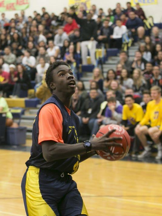 Kellis High School Unified Sports basketball game