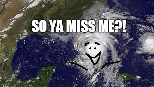 Guess what time it is... Hurricane season is here until Nov. 30. Yippidy doo dah day...