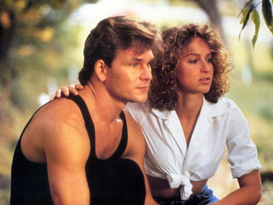 """The original """"Dirty Dancing,"""" from 1987, with Patrick"""