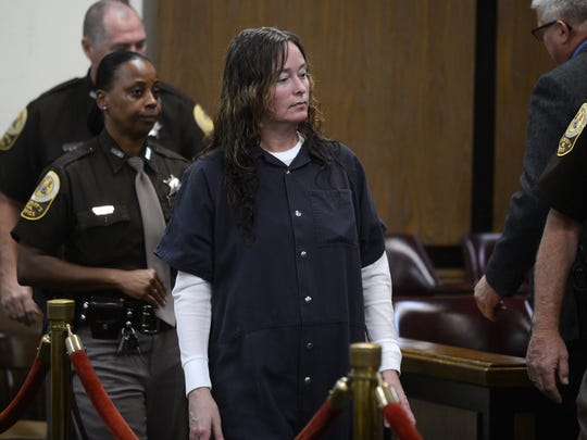 Convicted Accomack County arsonist Tonya Bundick entered an Alford plea on all 61 charges remaining against her on Monday, April 20.
