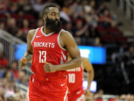 USP NBA: WASHINGTON WIZARDS AT HOUSTON ROCKETS S BKN HOU WAS USA TX