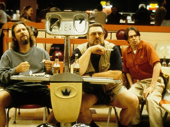 """The Big Lebowski,"" starring Jeff Bridges, John Goodman and Julianne Moore."
