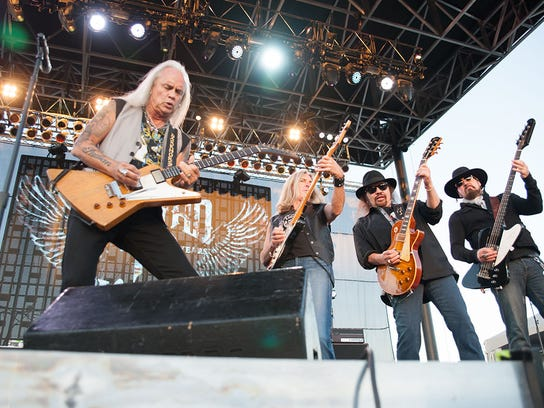 Lynyrd Skynyrd was named one of Rolling Stone's 100 Greatest Artists of All Time in 2010. The Southern rock group will stop in Evansville later this year on their farewell tour.