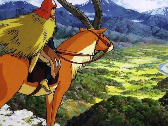"1997's ""Princess Mononoke"""