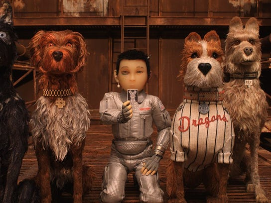 "2018's ""Isle of Dogs"""
