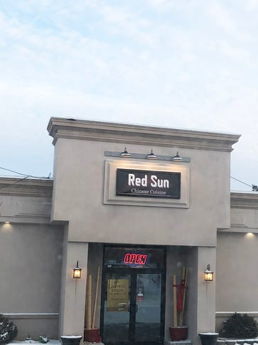 Red Sun Chinese Restaurant opened in October in Brighton.