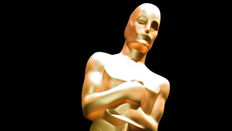 Graphic of the Oscar statue