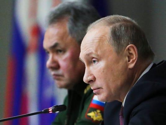 Putin military