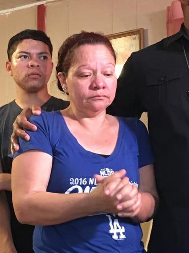Lorenza Valdez in her Phoenix home on April 3, 2017.