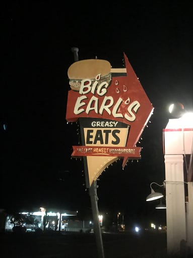 Big Earl's Greasy Eats is an institution on the main