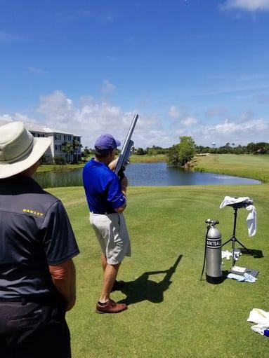 Bill Penney, best shot golf cannon.