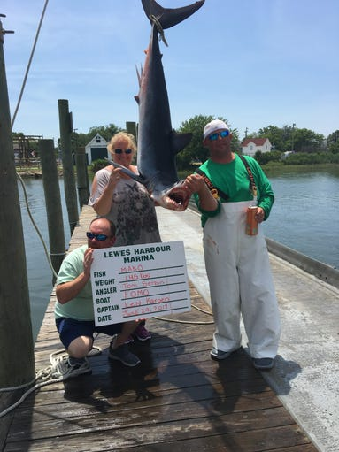 Send us your fishing photos for Lewes harbor marina fishing report