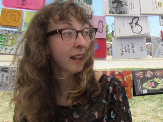 L.A. Zine Fest organizer and Carrizozo Colony artist Rhea Tepp will host a zine workshop at 11 a.m. to 1 p.m. April 23 at the Lutz Building, 401 12th Street, 2nd floor, Carrizozo.