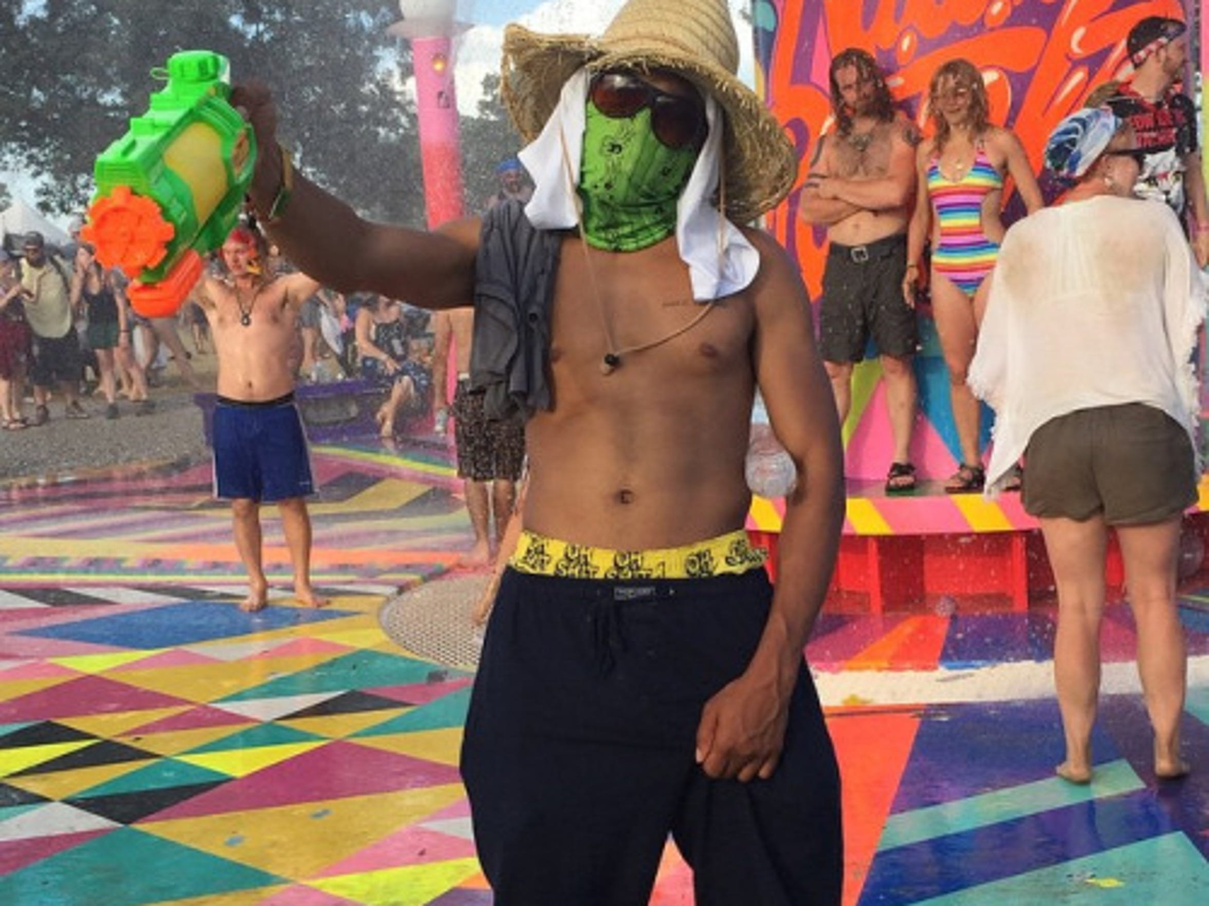 Chance the Rapper spent Bonnaroo 2015 undercover.