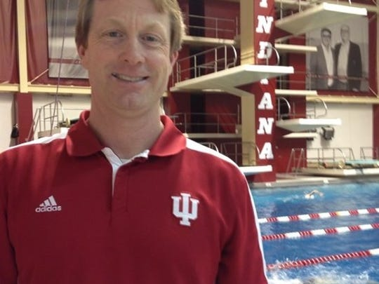 Indiana University swim coach Ray Looze