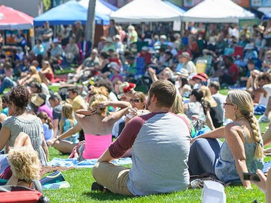 Sunday A'Fair features outdoor concerts in Scottsdale Civic Center Park by top Arizona musicians, along with an arts-and-crafts market and fun activities for children.