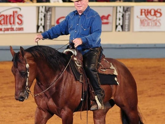 Actor William Shatner rides competitively and participates  in the annual Hollywood Charity Horse Show.