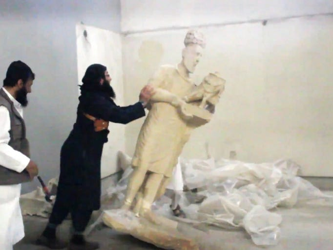 closer look at artifacts isil is destroying
