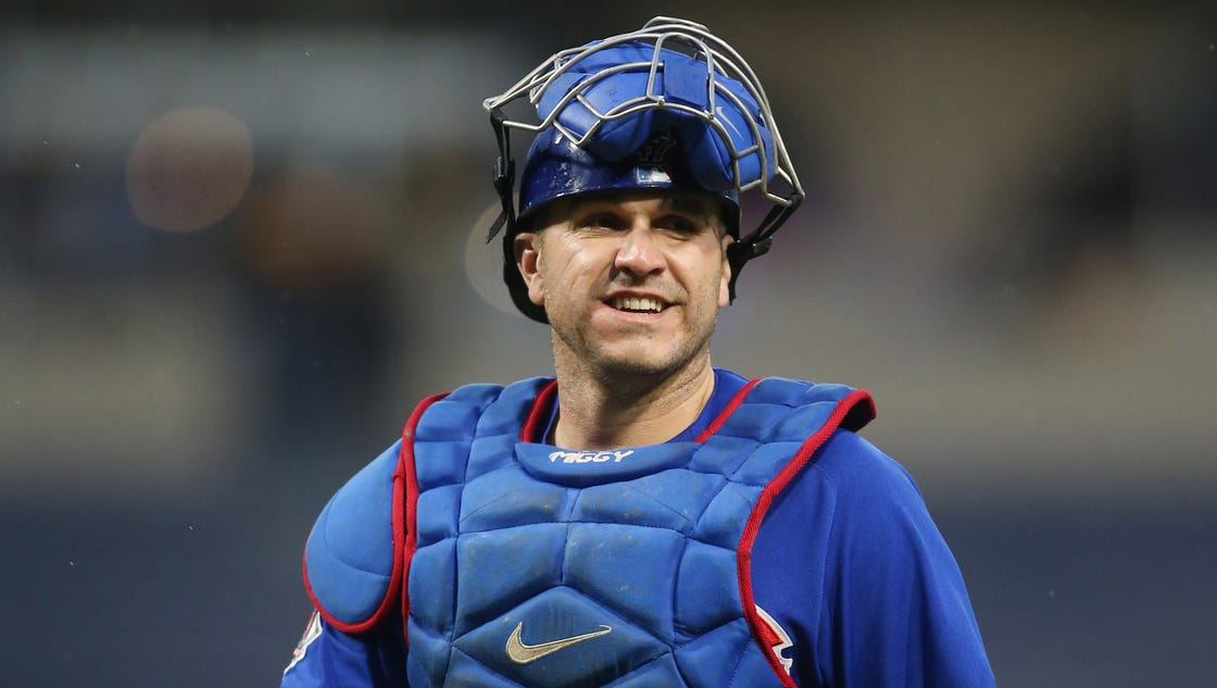 Blue Jays acquire former Cubs catcher Miguel Montero