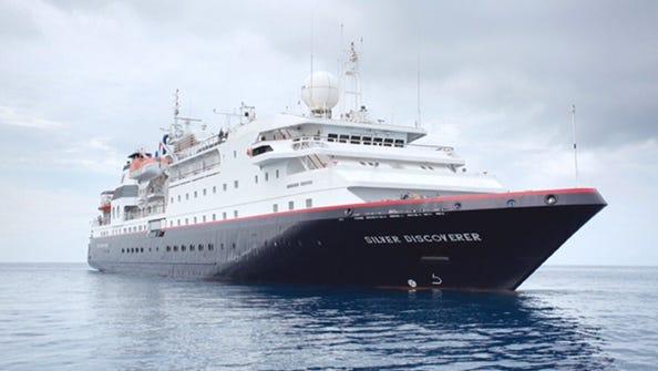 Silversea's 120-passenger Silver Discoverer.