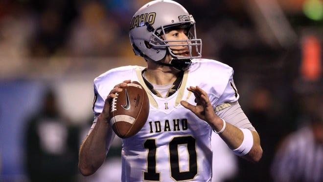 Idaho quarterback Matt Linehan had four touchdown passes in the win.