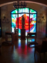 This is one of four devotional spaces in St. Frances