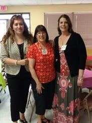 Sandra Krassin, from left, Nancy Casner, and Brenda