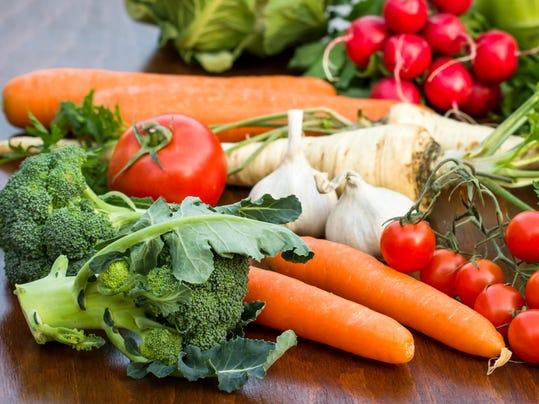 vegetables stock