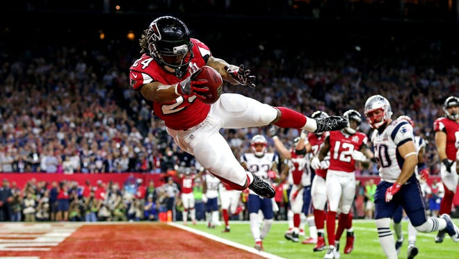 Running back Devonta Freeman led the Falcons to the Super Bowl last season and his strong finish could carry fantasy owners to a title this season.