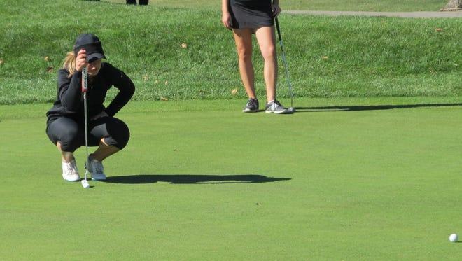 Brighton's Annie Pietila was the KLAA and regional golf champion last fall.