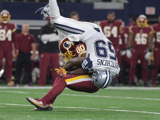 Cowboys linebacker Anthony Hitchens