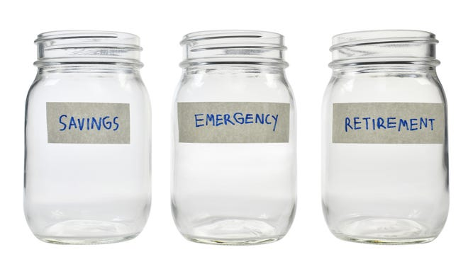 Nearly one-in-four Americans have no emergency savings, according to a report from consumer financial services site Bankrate.com.