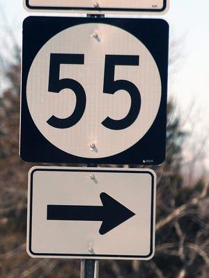 Route 55 for Carousel. - Staff photo/Cody Glenn