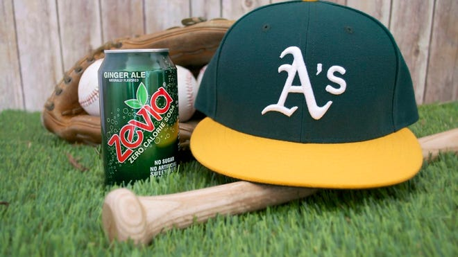 """The Oakland A's thumbs its nose at convention again when the only """"official"""" soft drink sold at the park is Zevia."""